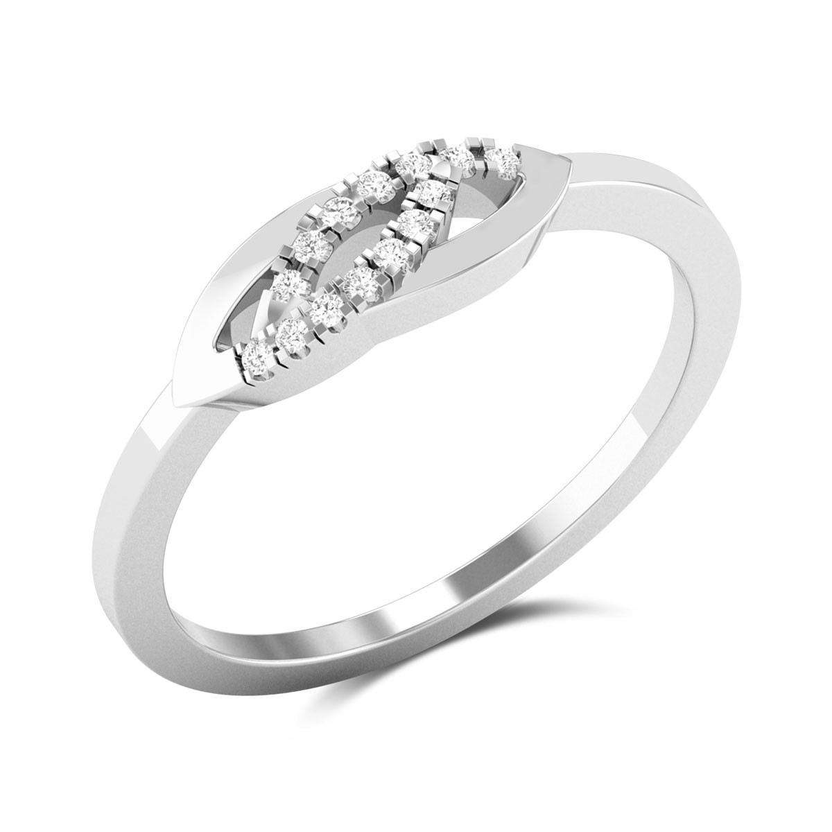 Demode Diamond Ring