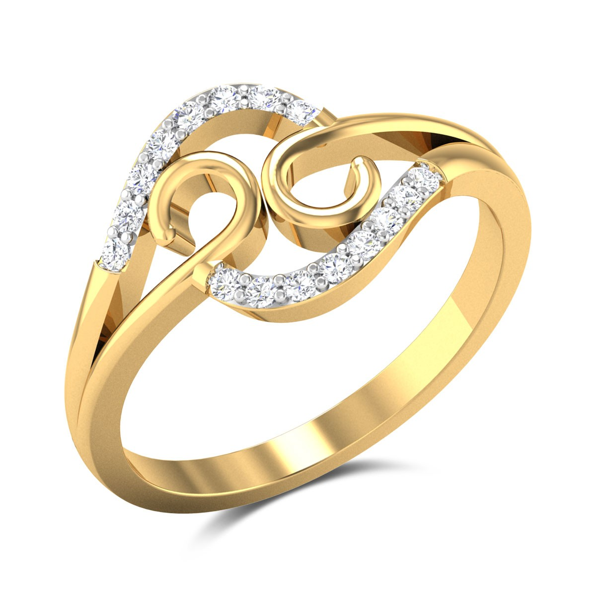 A La Modep Diamond Ring