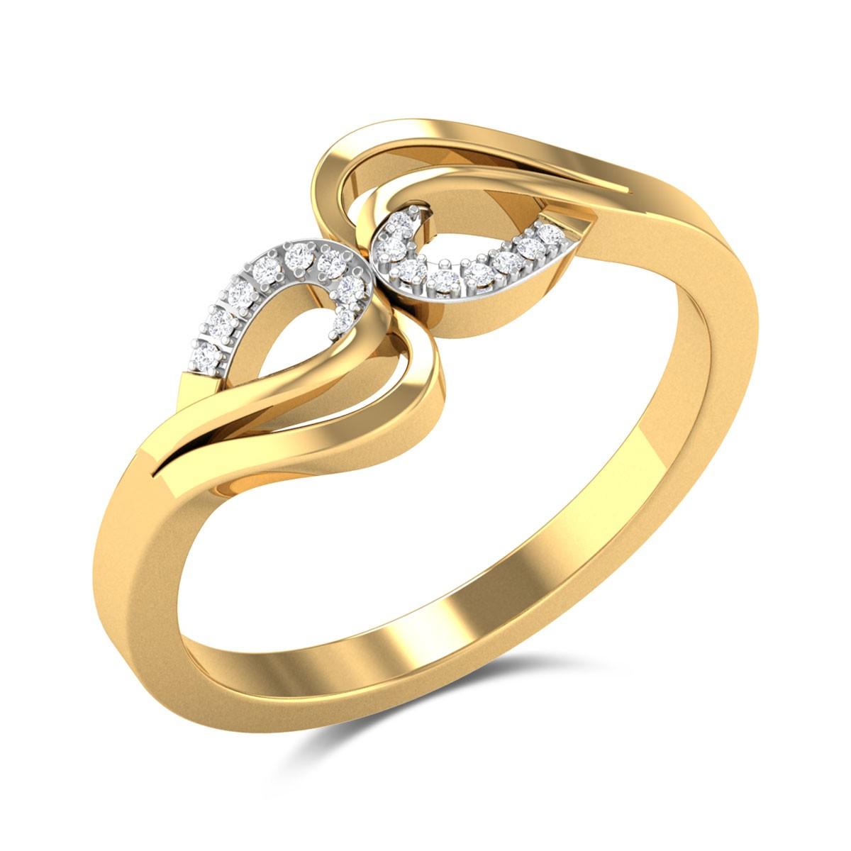 Bubble up Diamond Ring