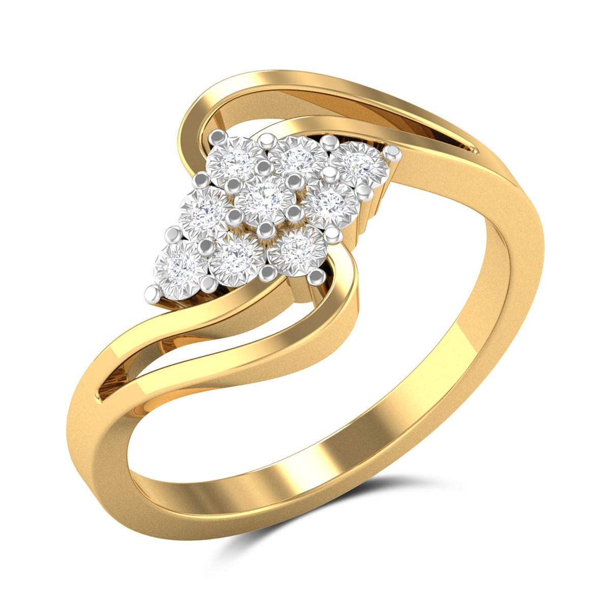 Chatelaine Diamond Ring