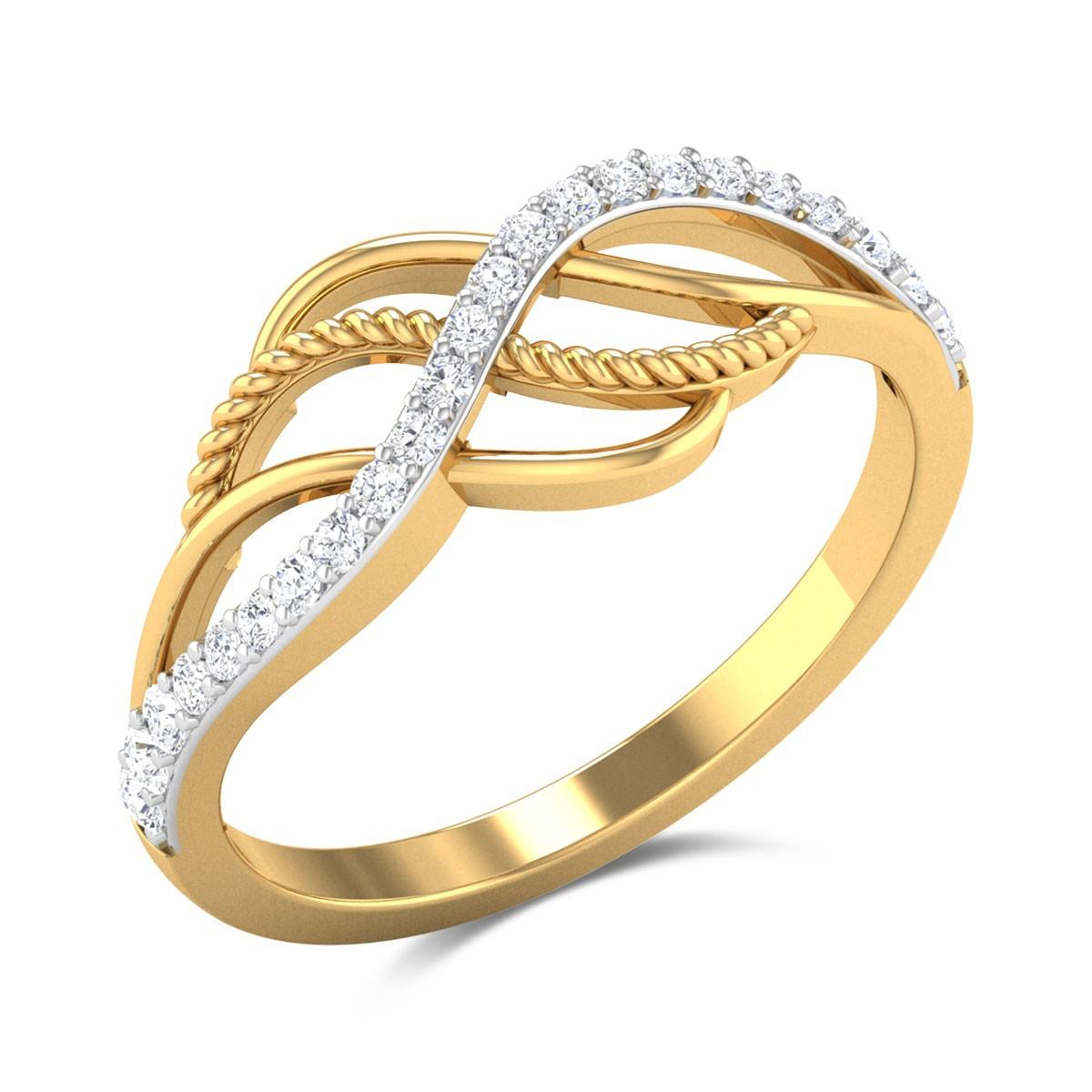 Nasturtium Diamond Ring