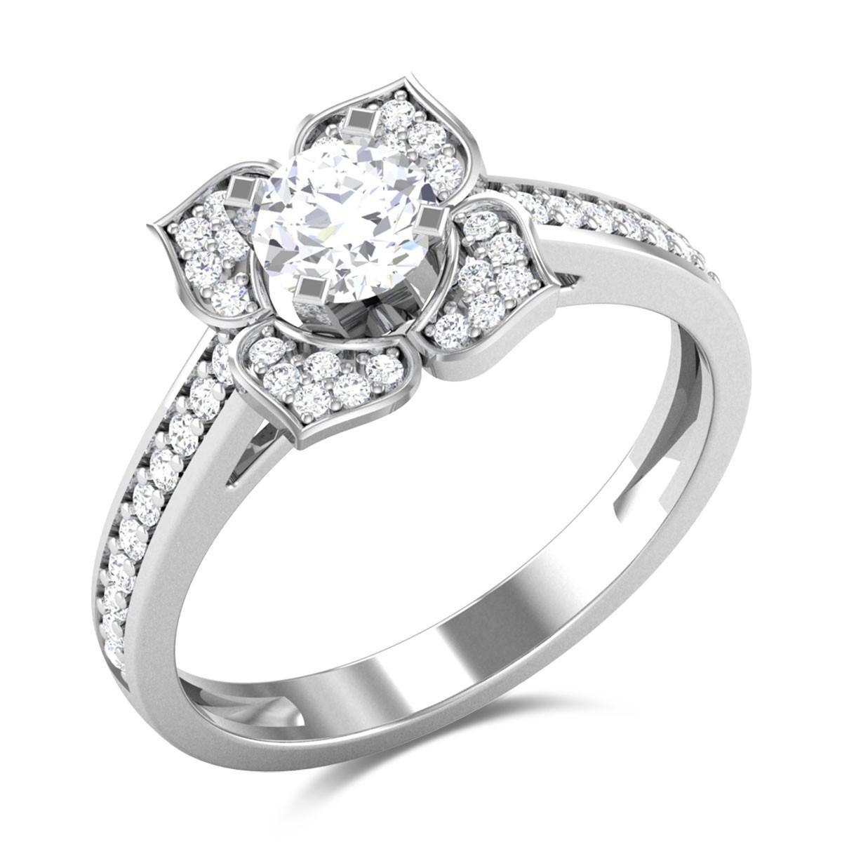 Melanie Diamond Ring