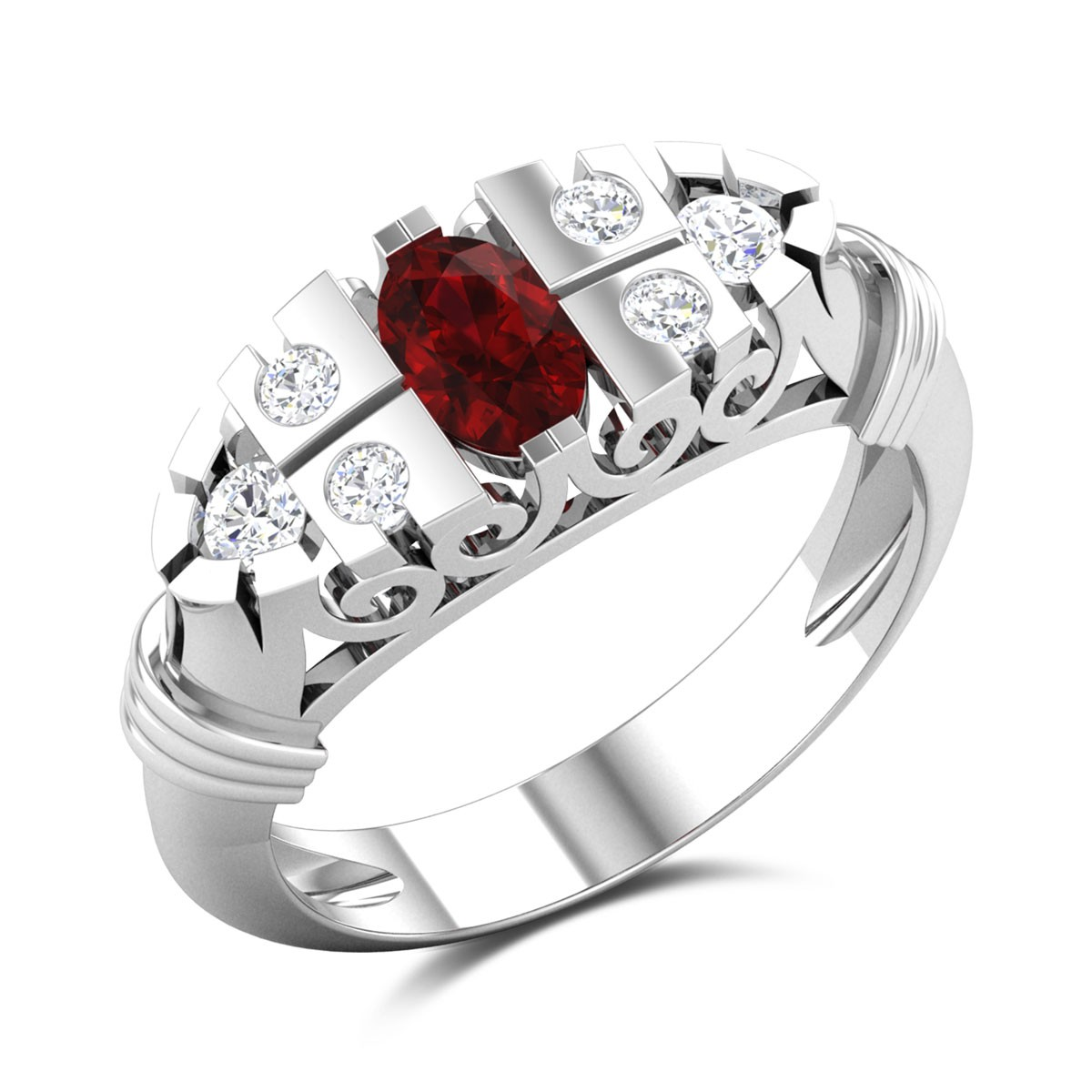 Mythical Magic Diamond Ring