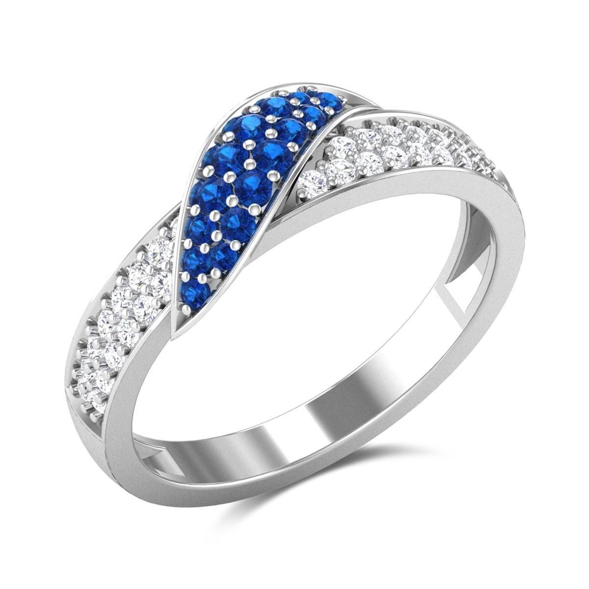Hydrangea Diamond Ring
