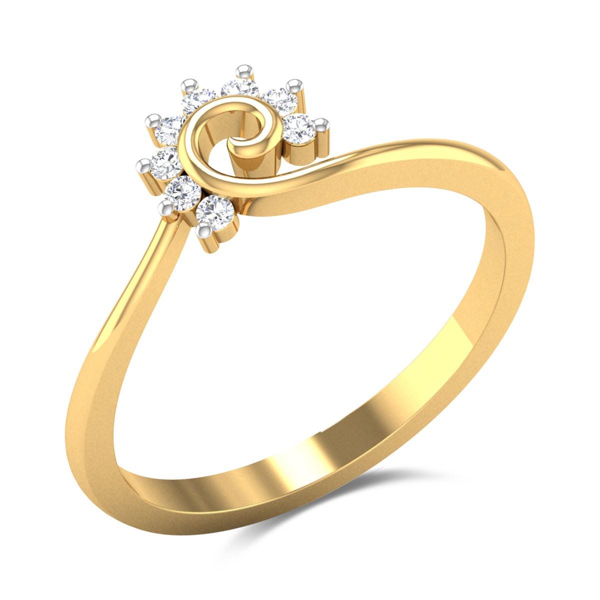 Pyxie Diamond Ring