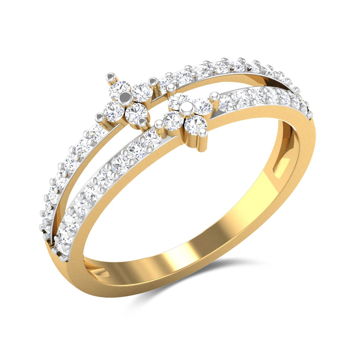 Dimna Diamond Ring
