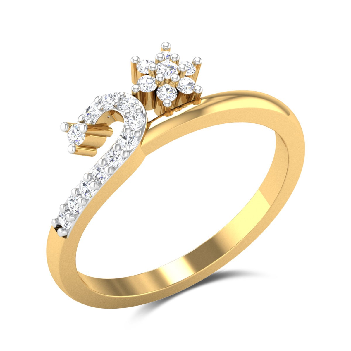 Dympna Diamond Ring