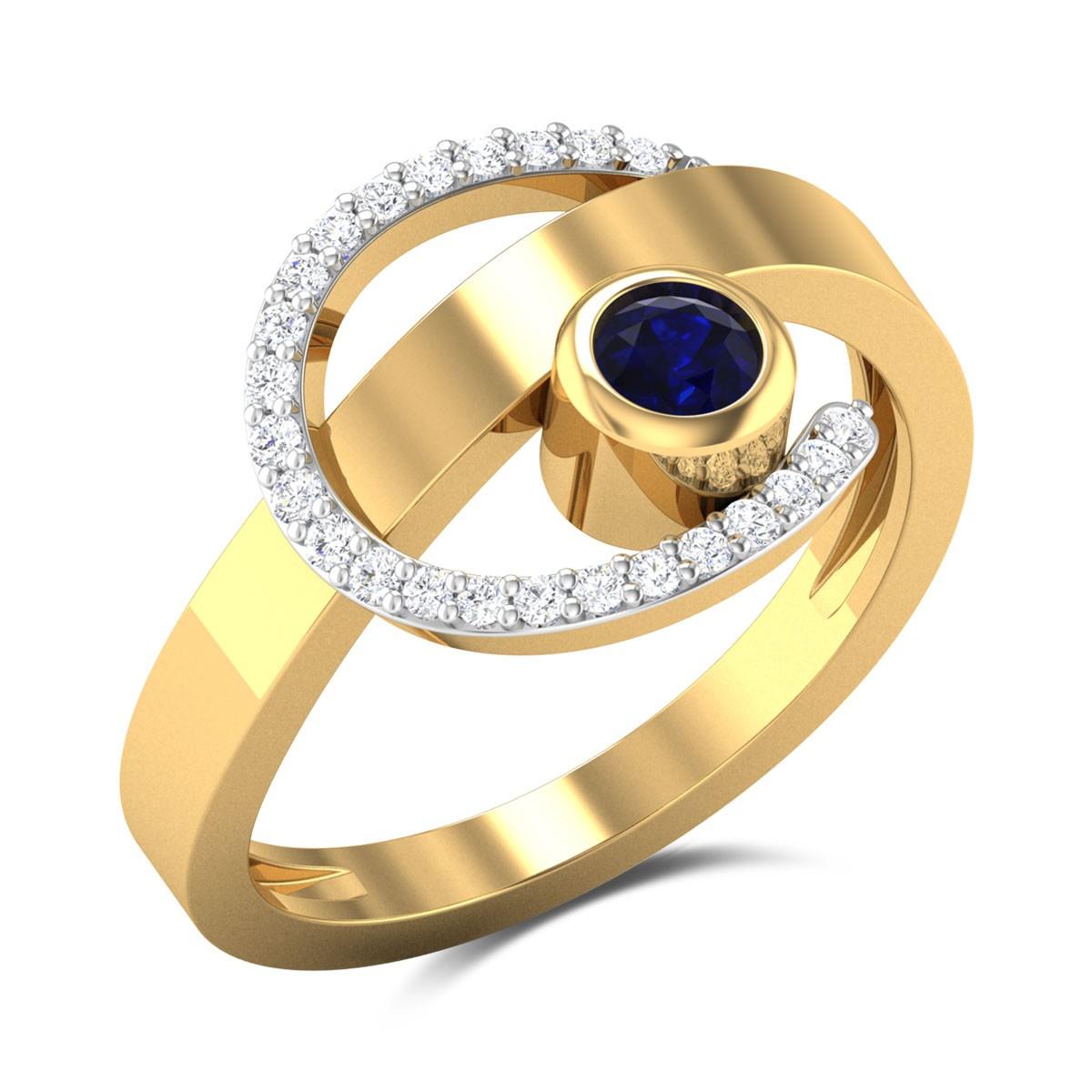Larkspur Diamond Ring