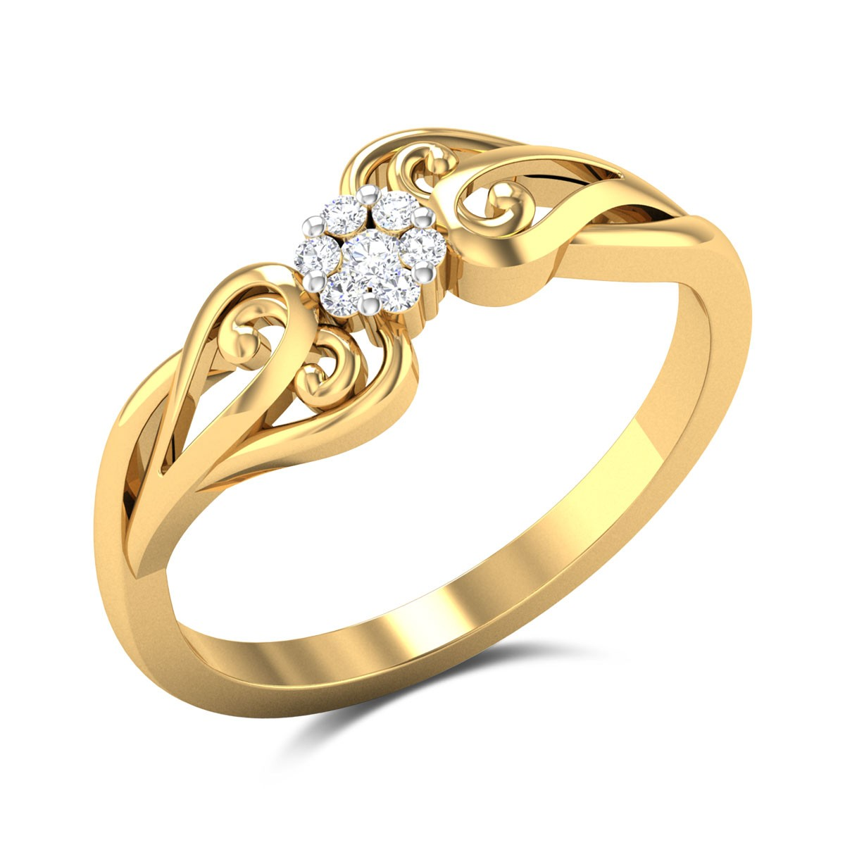 Syringa Diamond Ring
