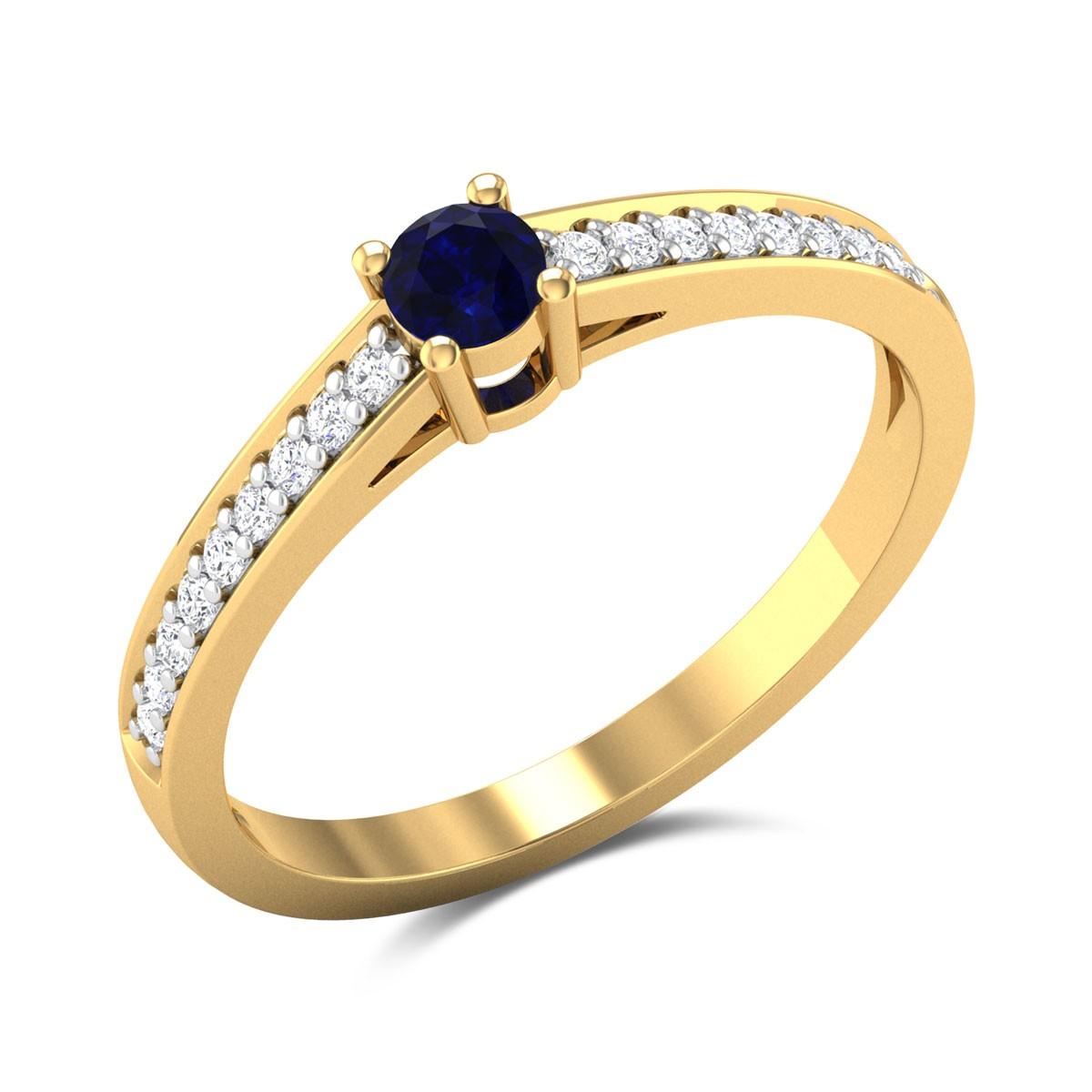 Epigaea Diamond Ring