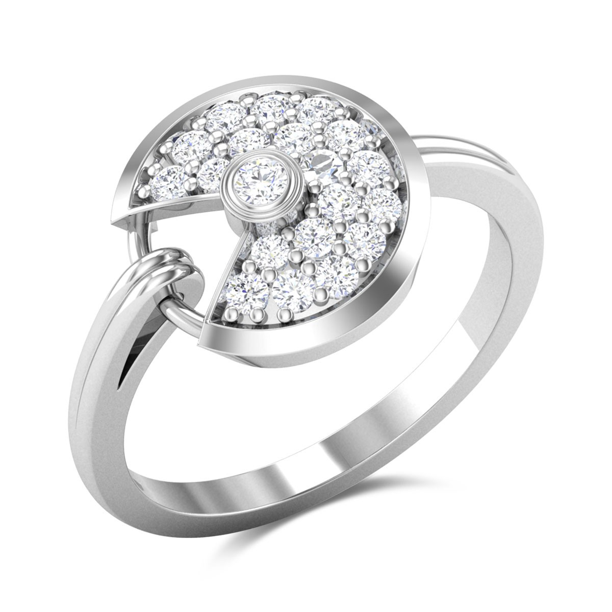 Poppy Diamond Ring