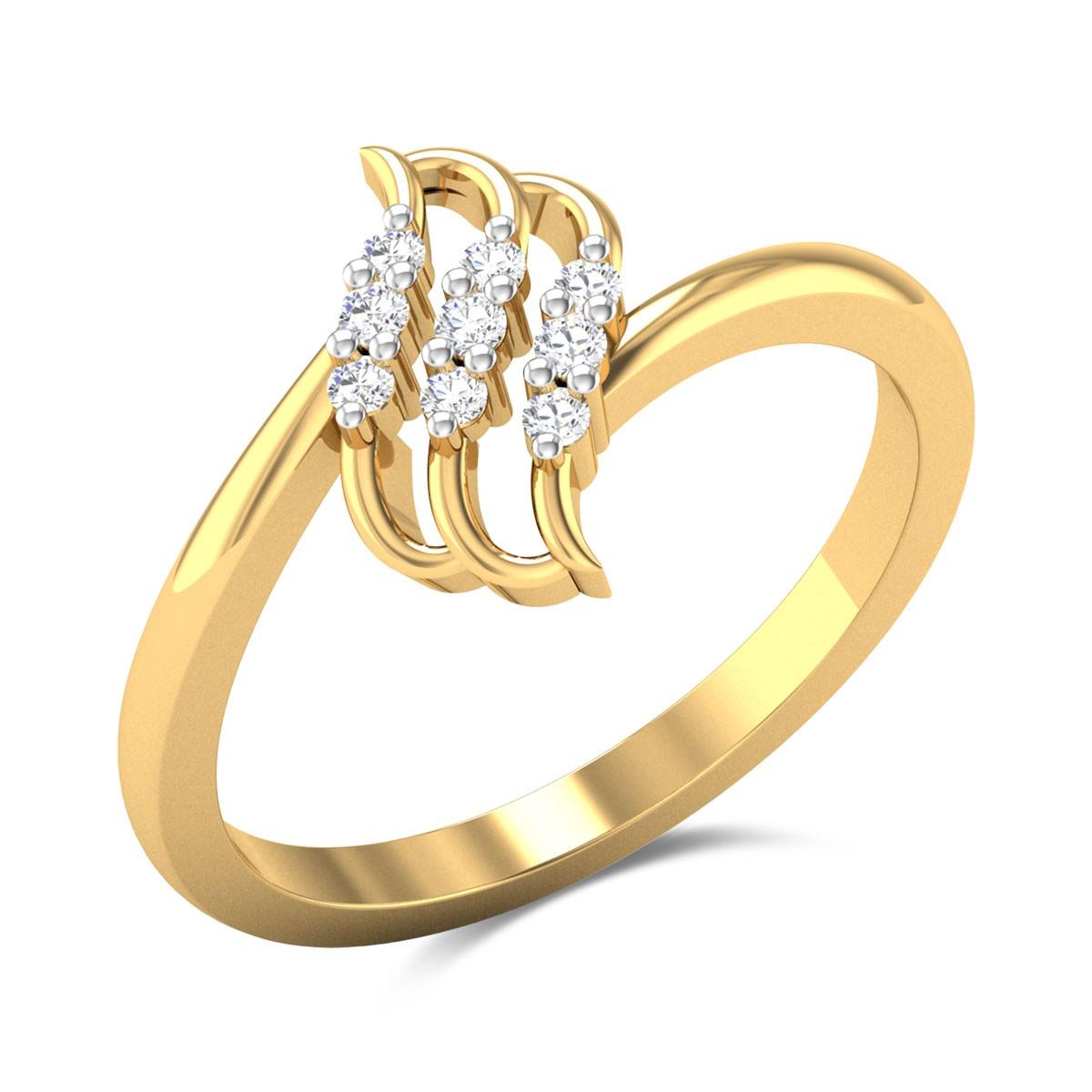 Hemlock Diamond Ring