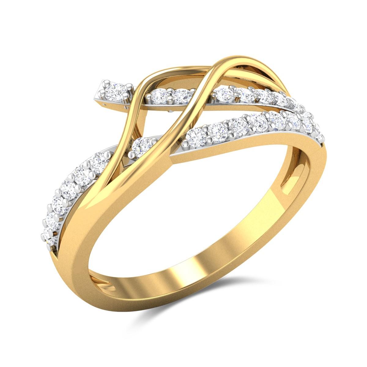Gloxinia Diamond Ring