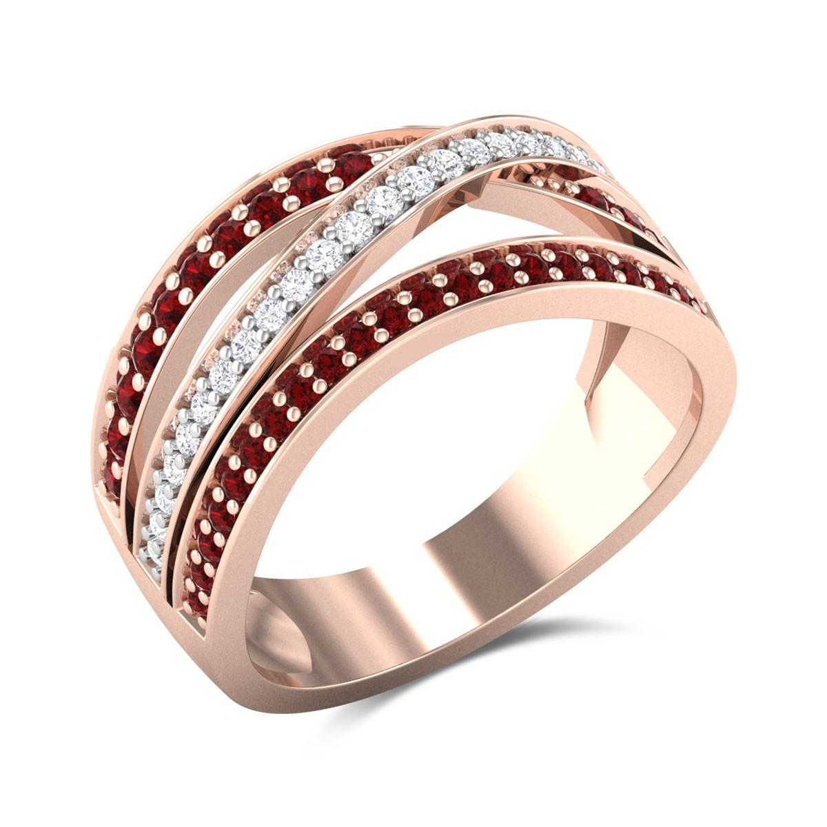 Aaria Wavy Ring