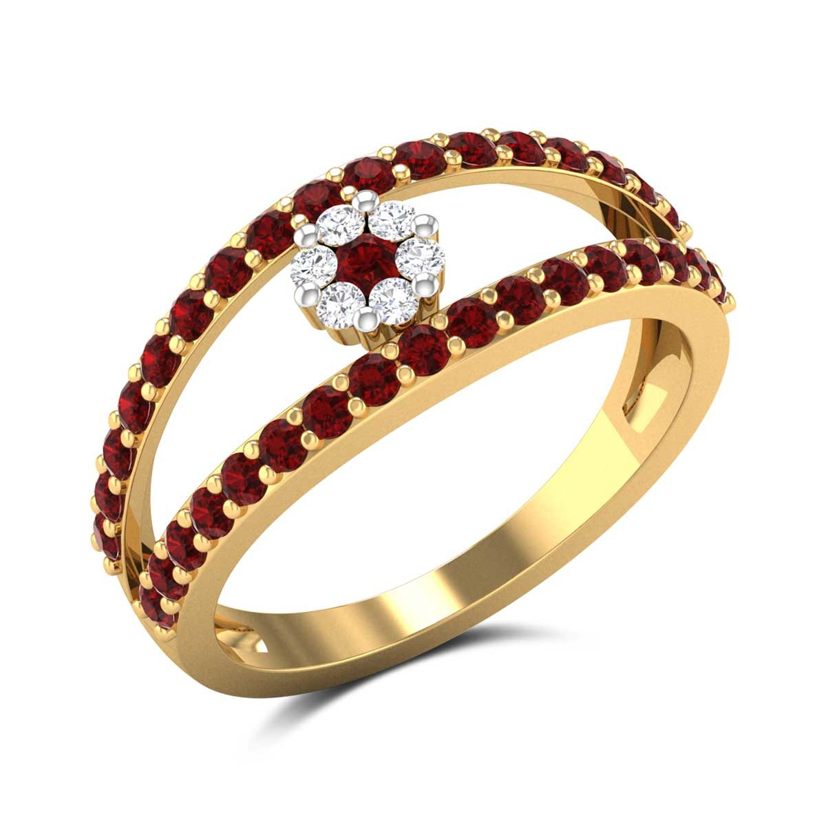 Adalene Ruby Ring