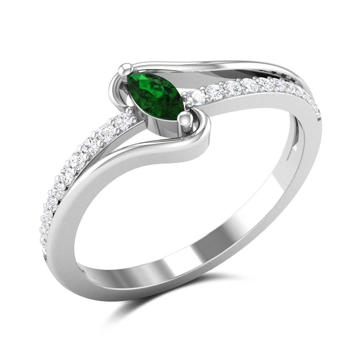 Adalicia Emerald Ring