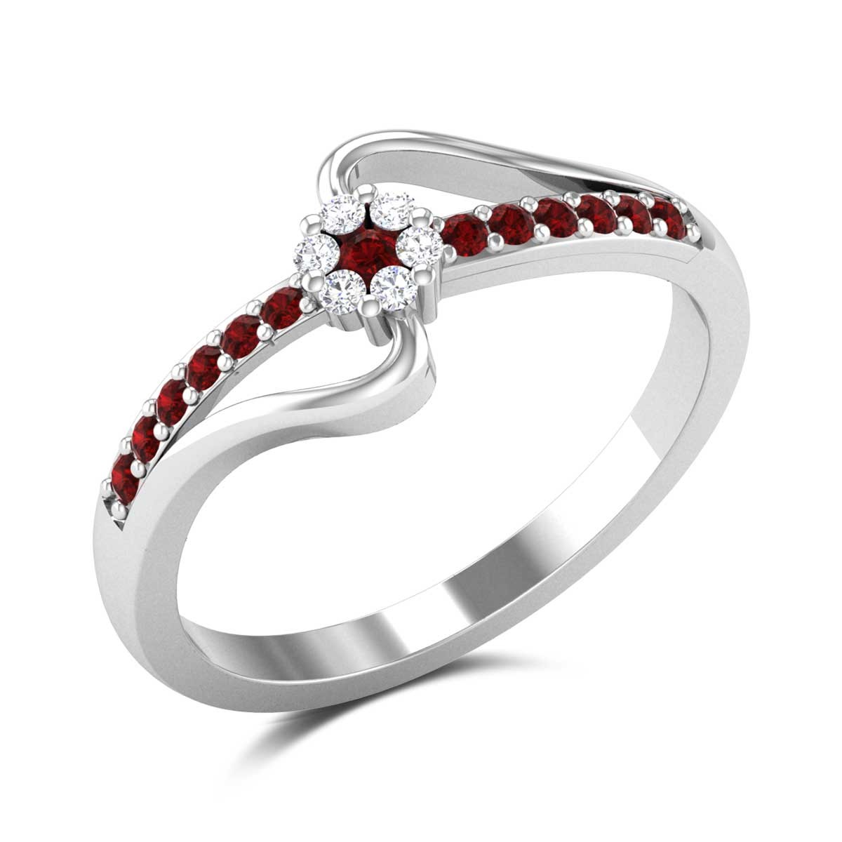 Addien Floral Ring