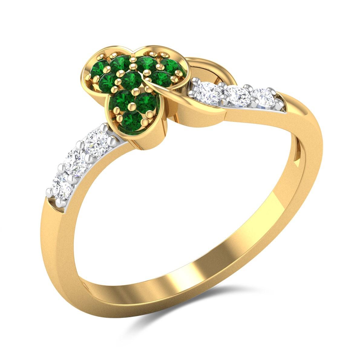 Adreanna Emerald Ring