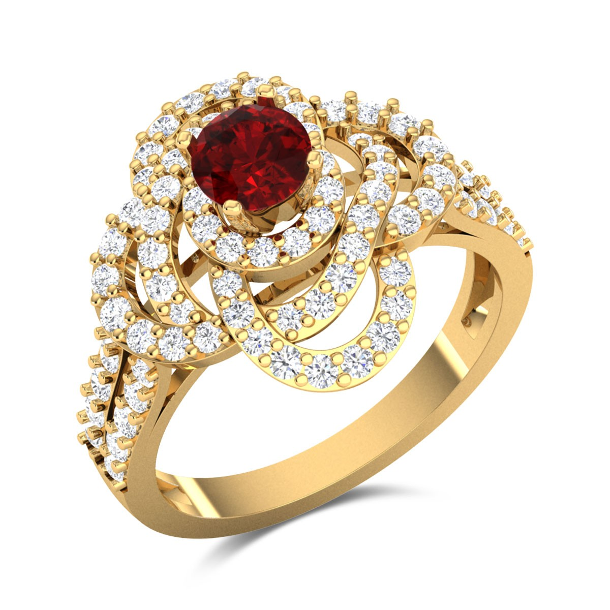 Baldhart Ruby Ring