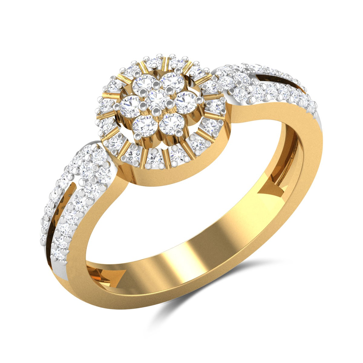 Keisho Floral Diamond Ring