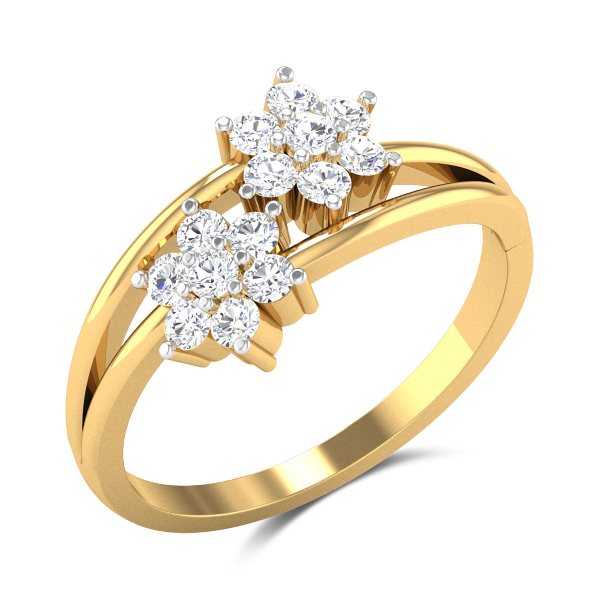 Khorshed Floral Diamond Ring
