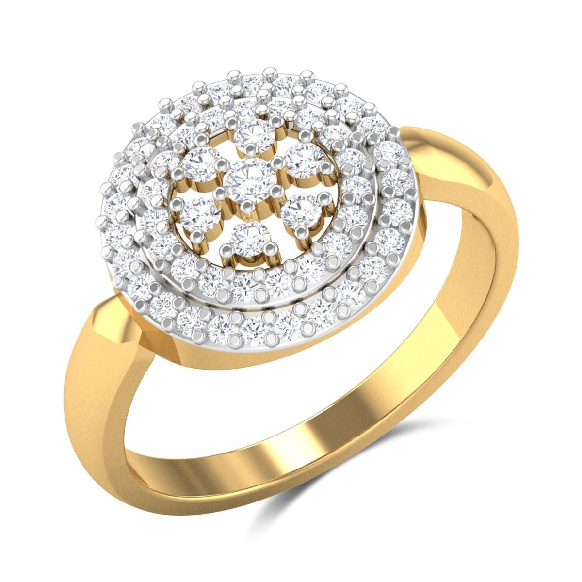 Kirat Circular Diamond Ring