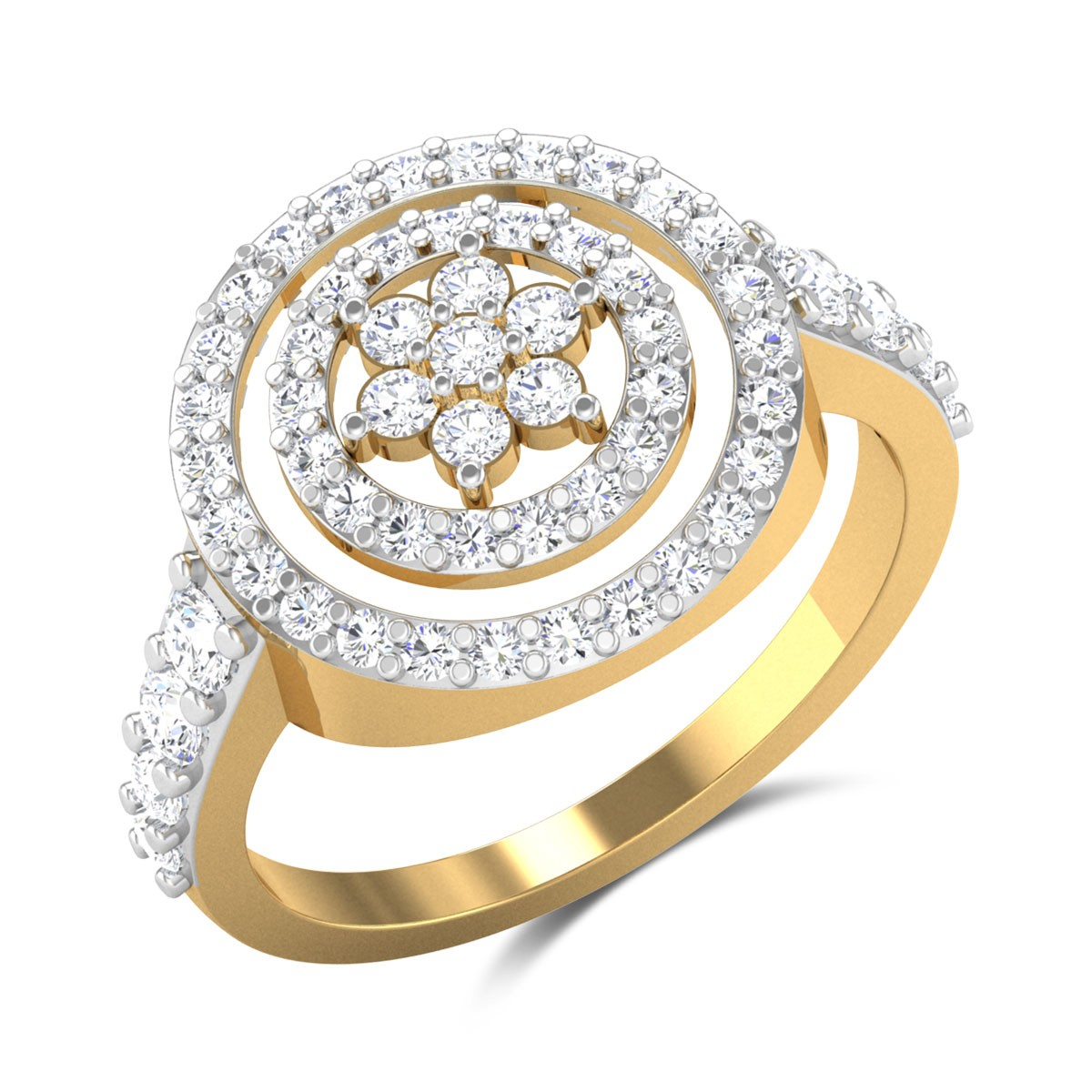 Kirip Floral Diamond Ring
