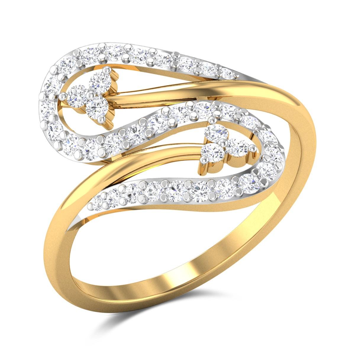 Mehdi Zig Zag Diamond Ring