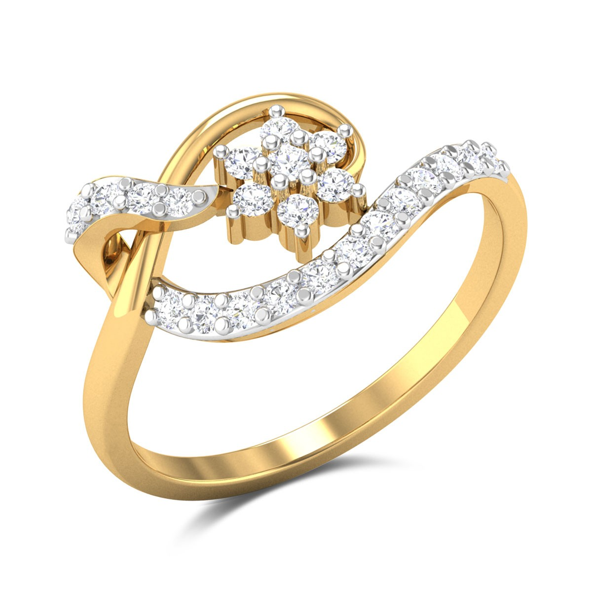 Mehrdad Floral Diamond Ring