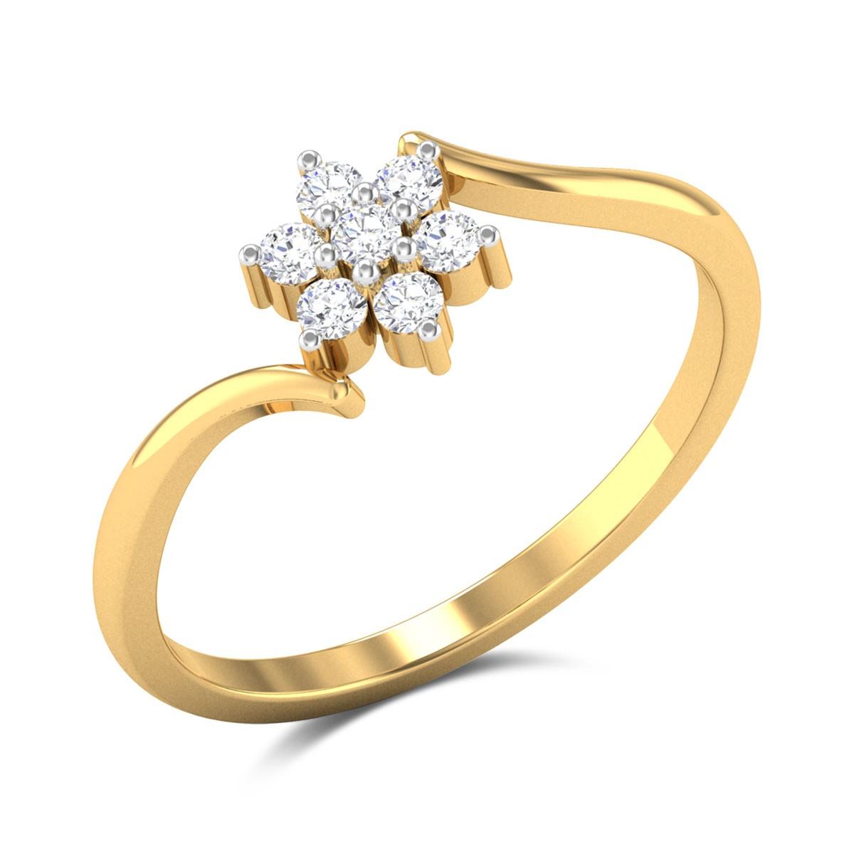 Namo Floral Diamond Ring