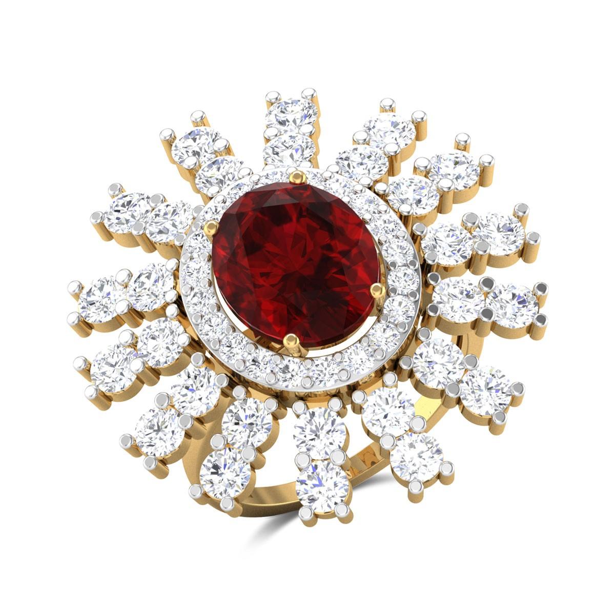 Ramey Diamond Cocktail Ring