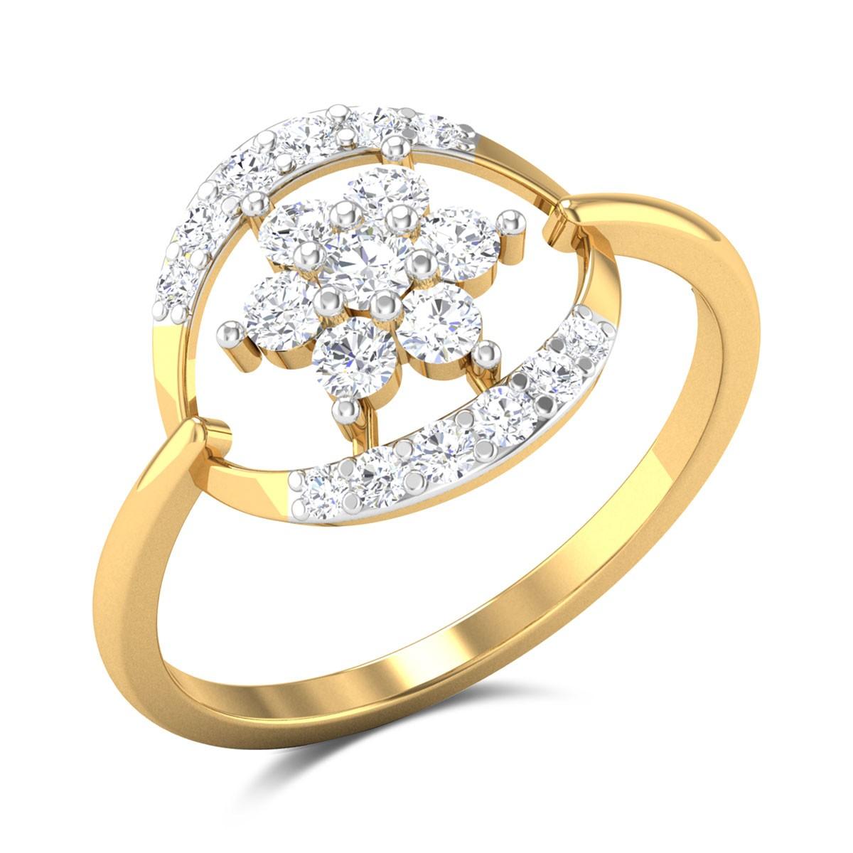 Rashne Floral Diamond Ring