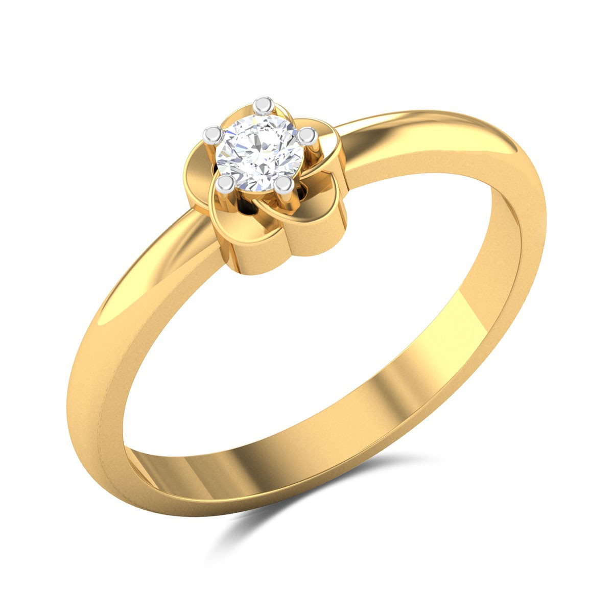 Shannon Floral Diamond Ring