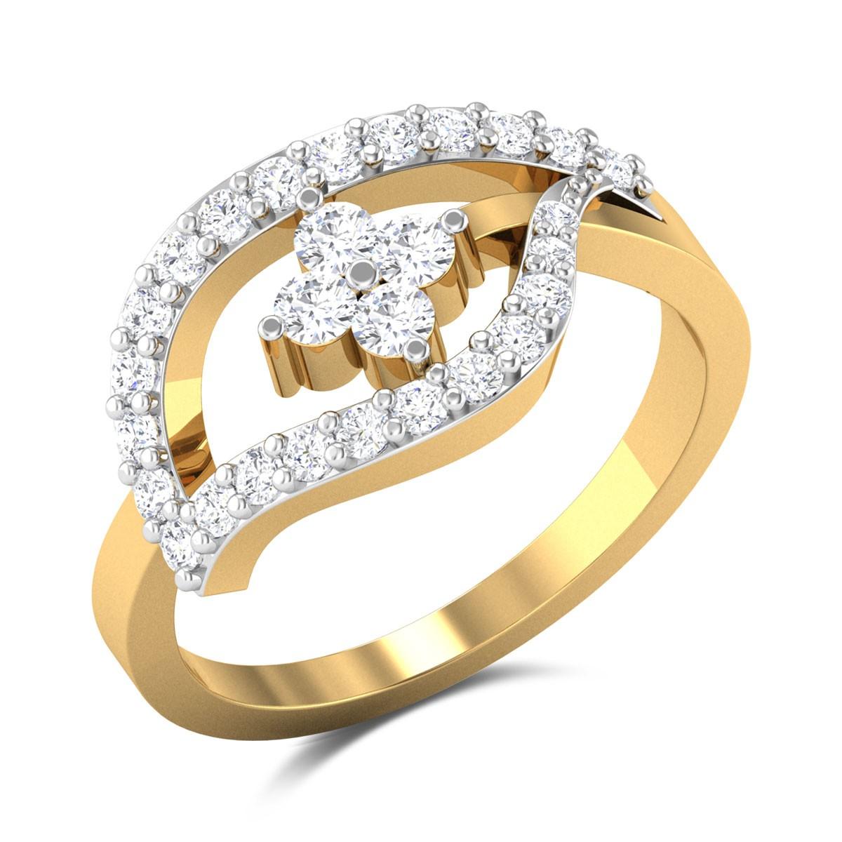 Irmhild Leafy Diamond Pendant