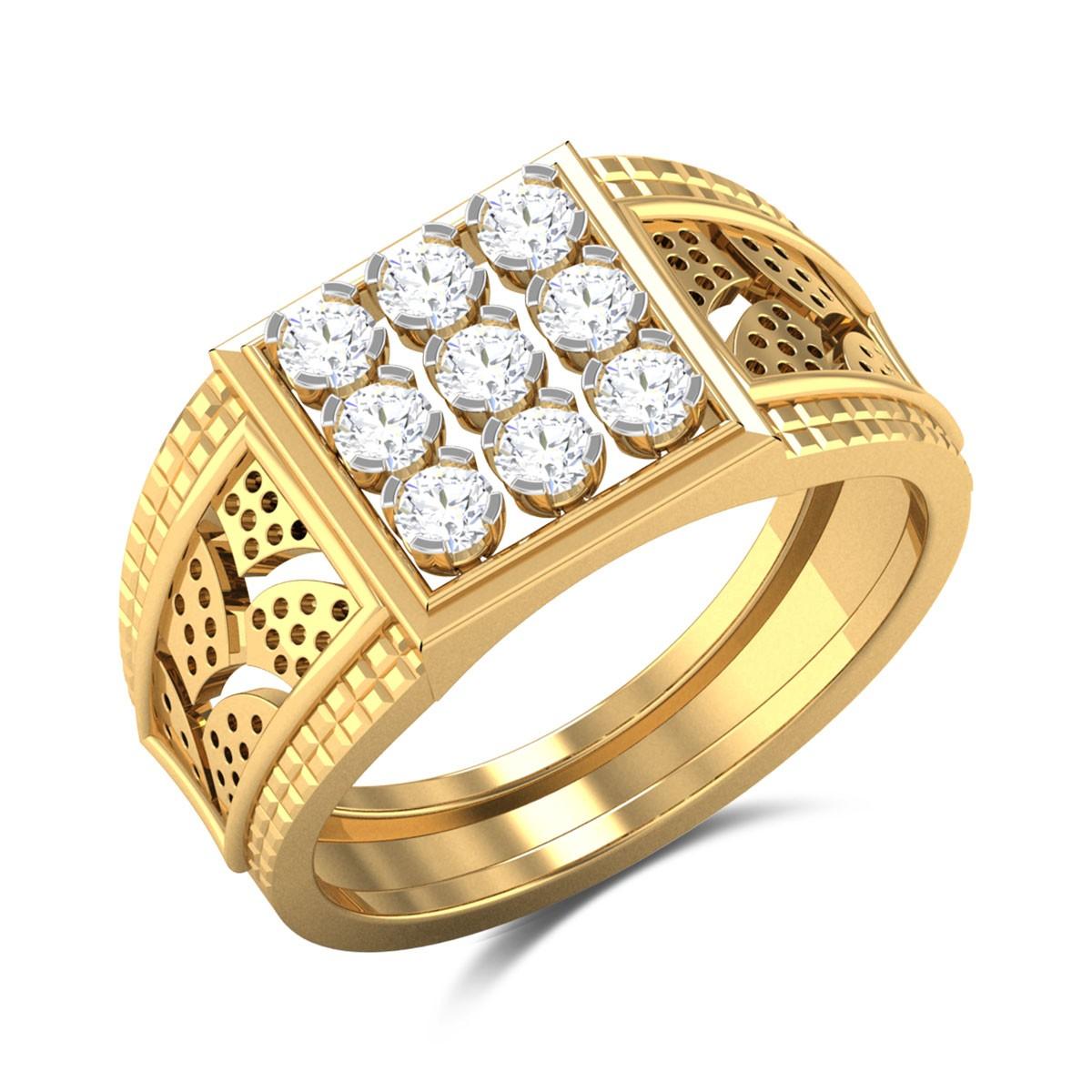 Nessa Nine Stone Diamond Ring