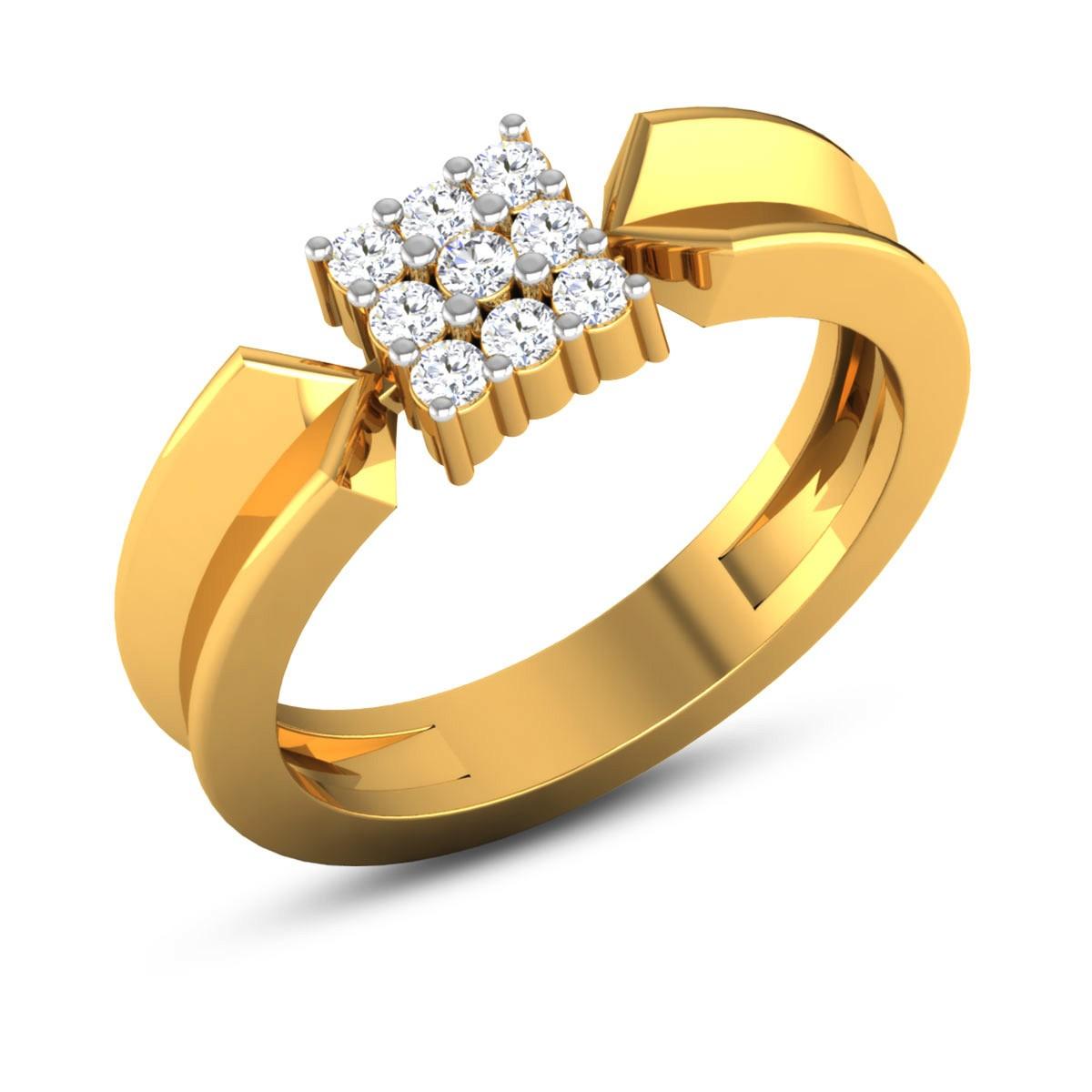 Thirza Nine Stone Diamond Ring
