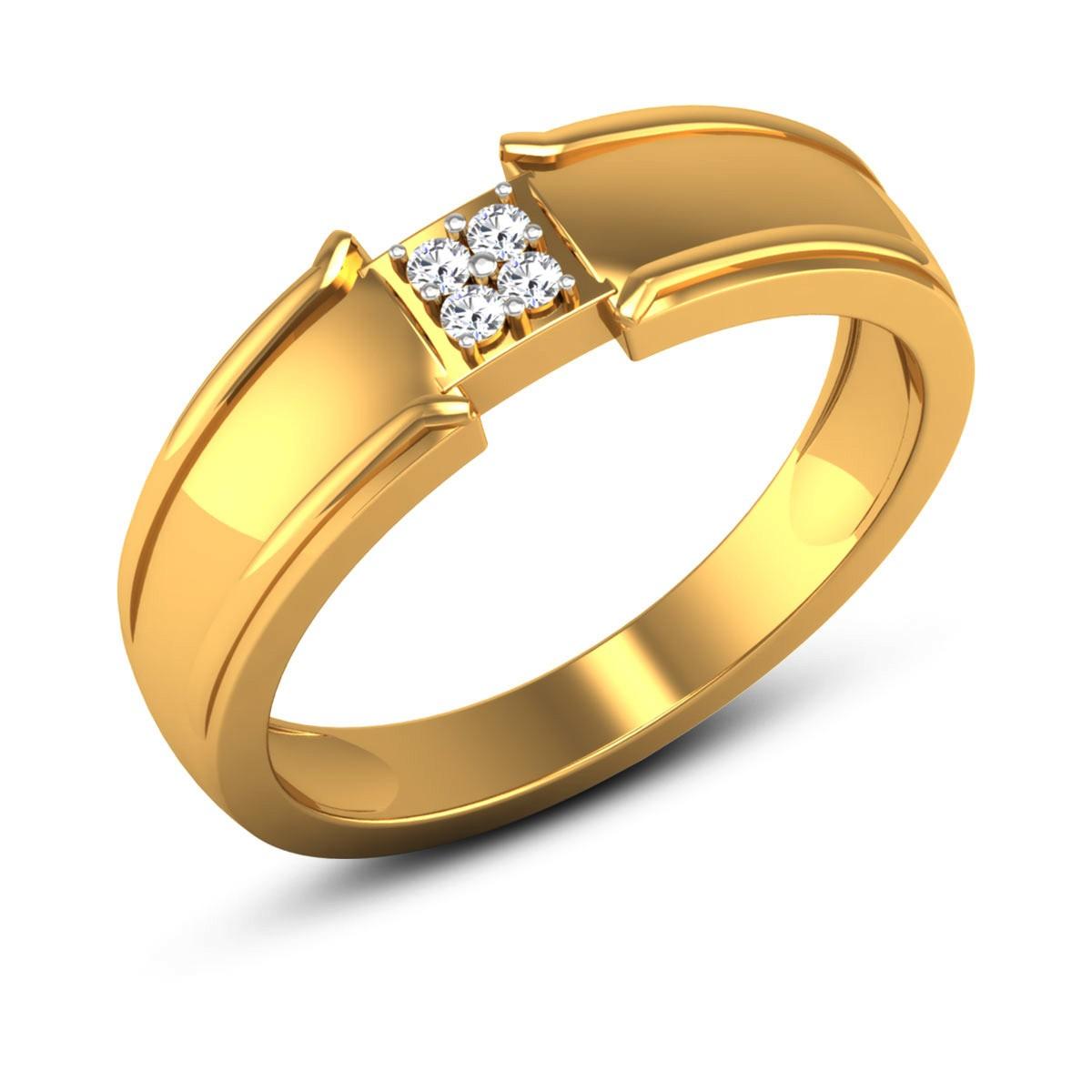 Amelie 4 Stone Diamond Ring
