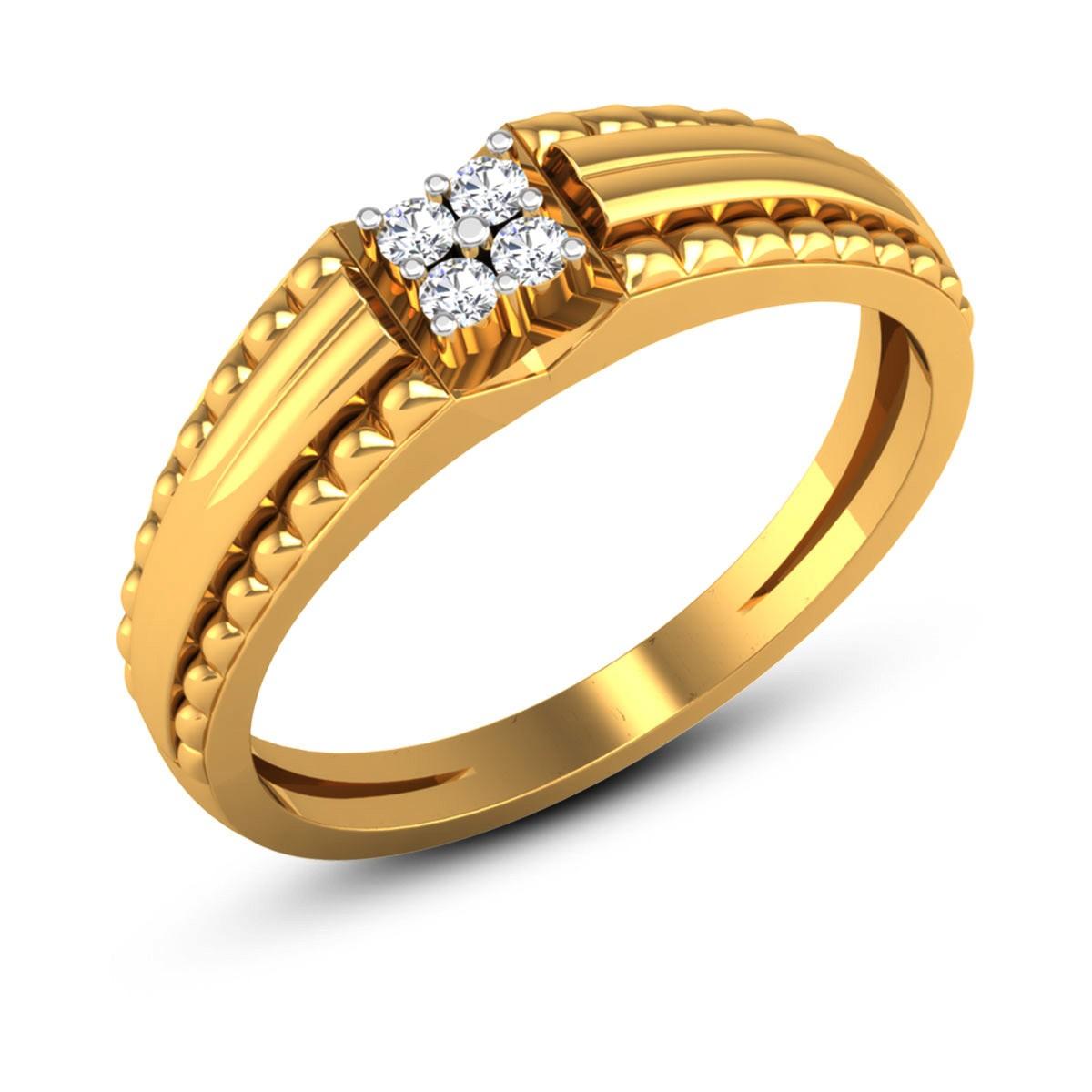 Aasit 4 Stone Diamond Ring