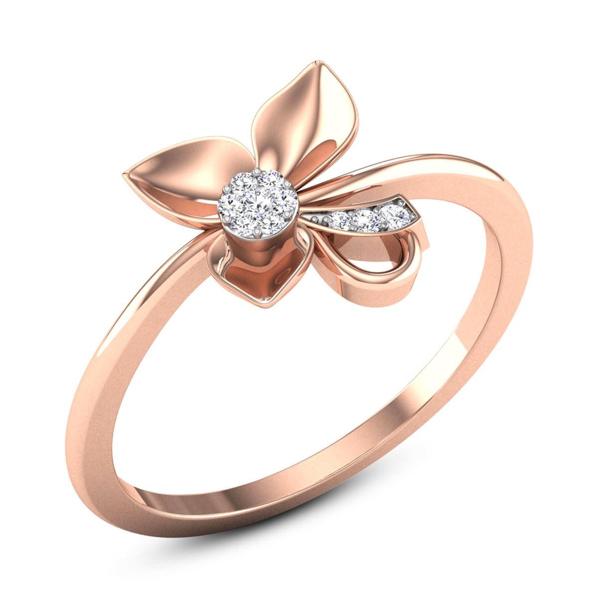 Blake Diamond Floral Ring