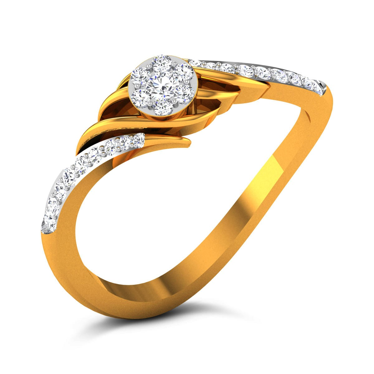 Semaj Diamond Ring