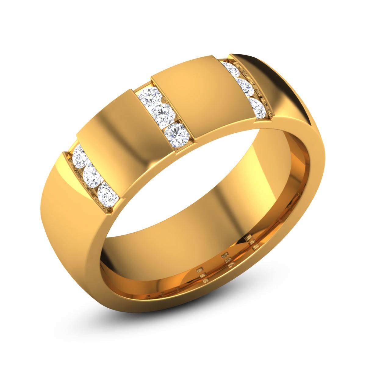 Agratha Diamond Band Ring