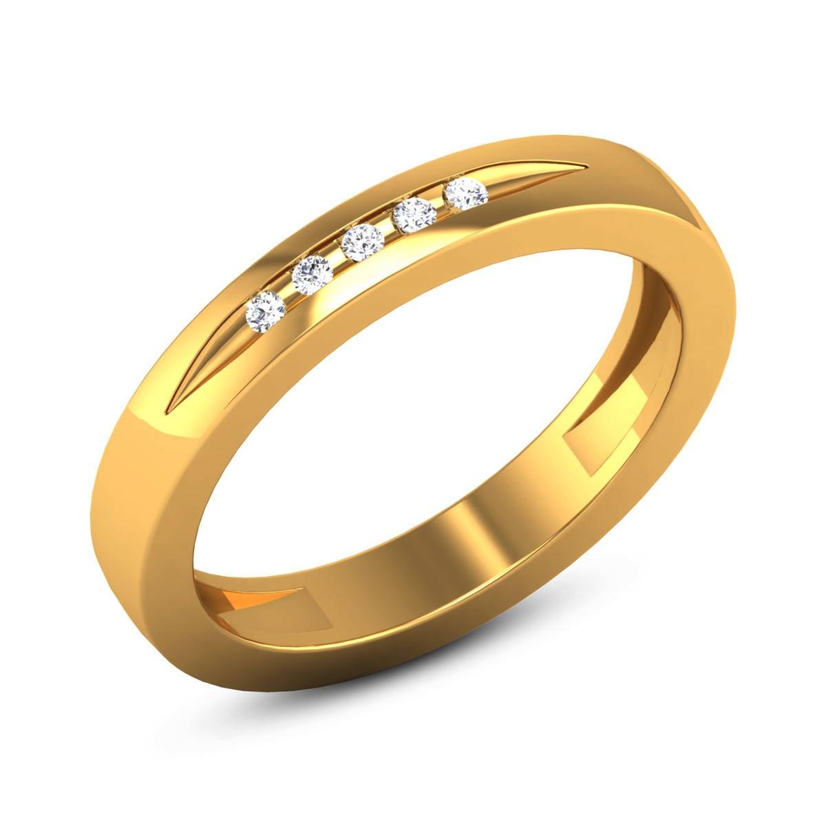 Anokhi Diamond Band Ring