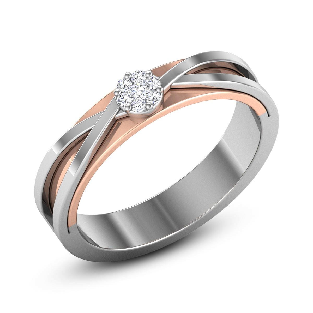 Abhyudita Diamond Band Ring