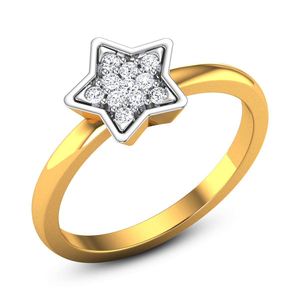 Pirro Star Diamond Ring