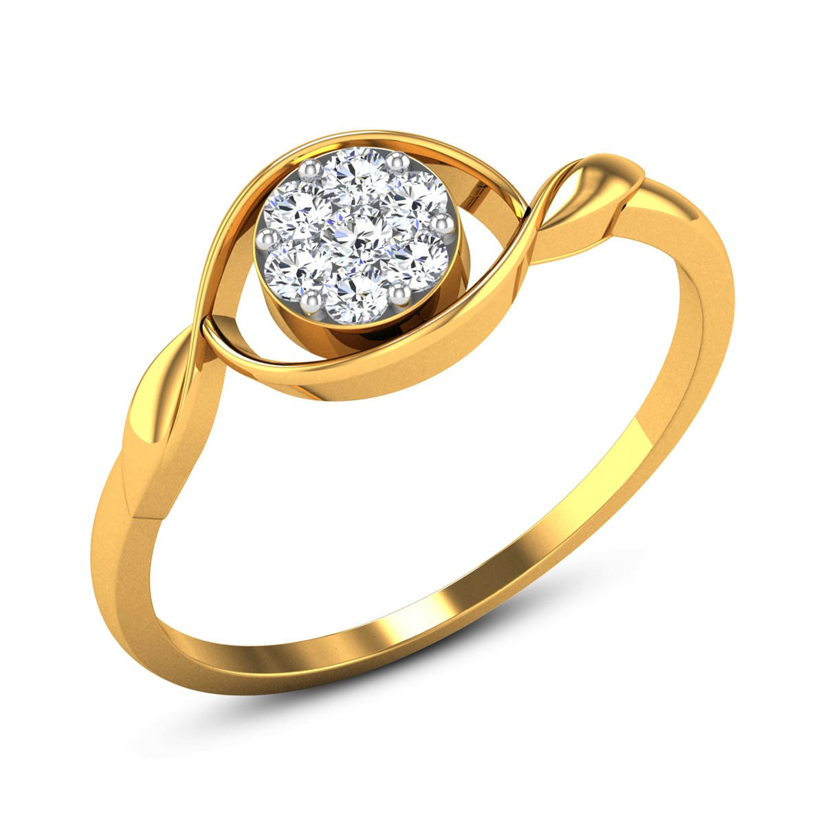 Renata Diamond Floral Ring