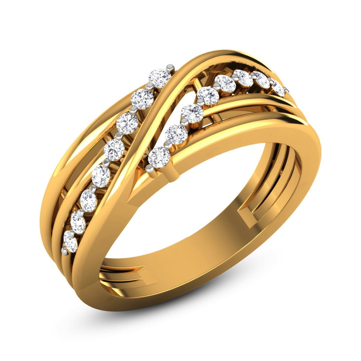 Cherish Diamond Band Ring