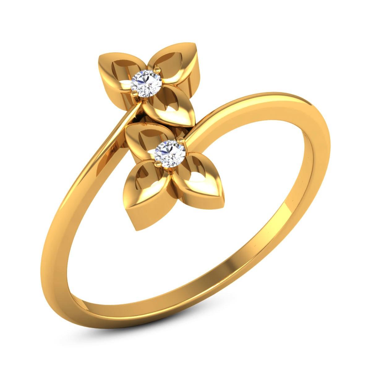 Burke Diamond Floral Ring