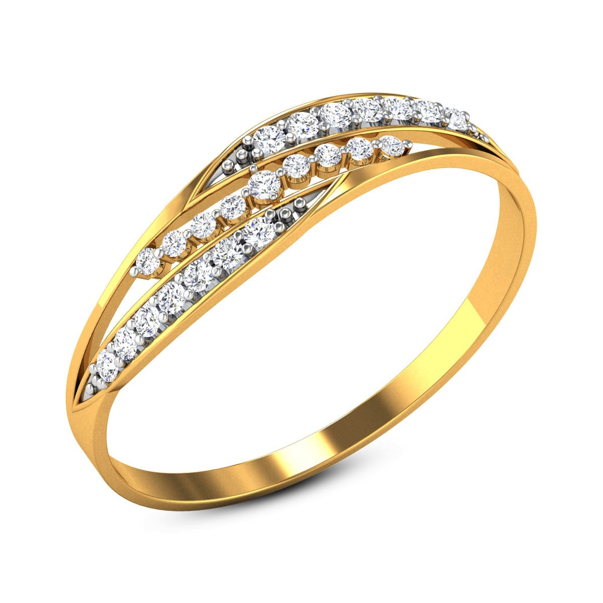 Geordie Diamond Ring