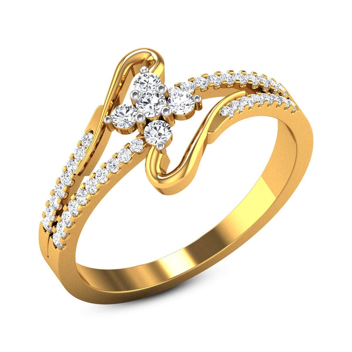 Kirk Diamond Floral Ring