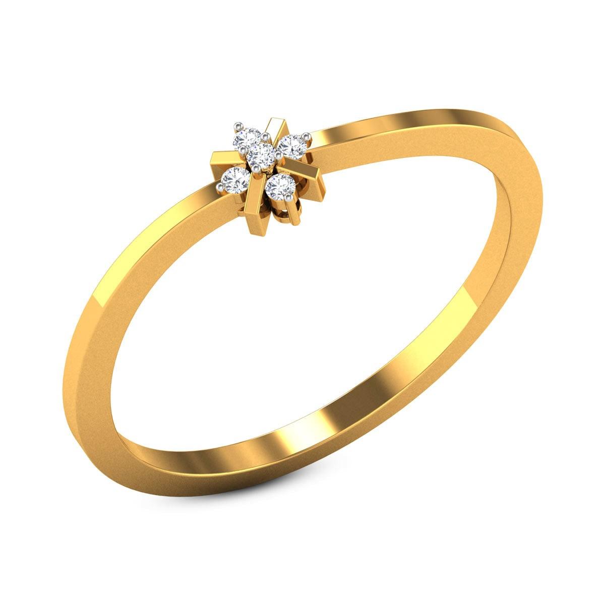 Verner Diamond Floral Ring